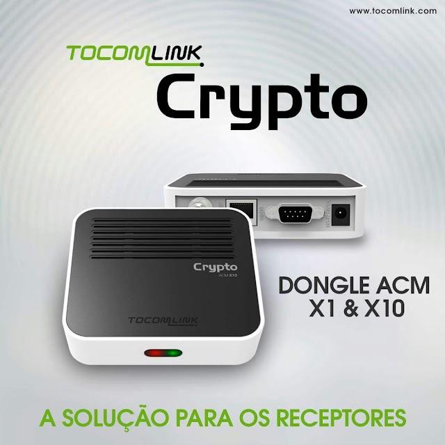 TOCOMLINK CRIPTO X1 NOVA ATUALIZAÇÃO V1.024 - 12/11/2019