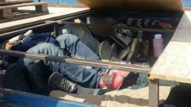 Ηγουμενίτσα:Μετέφερε 6 αλλοδαπούς σε κρύπτη φορτηγού