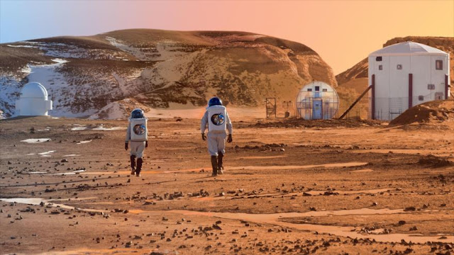 Hallan un sitio para la primera colonia en Marte