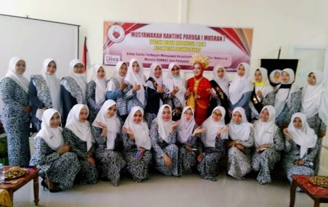 Melalui Musyawarah Ranting, Hj. Nur Aqidah Terpilih Sebagai Ketua IBI Ranting Paruga