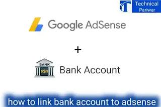 Bank link to Adsense account