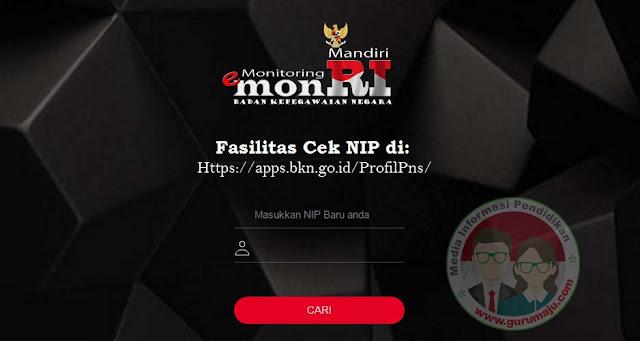 Cek NIP PNS di Laman Baru BKN https://apps.bkn.go.id/ProfilPns/