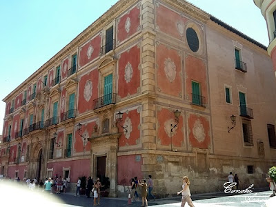 Palacio Episcopal de Murcia de estilo barroco rococó
