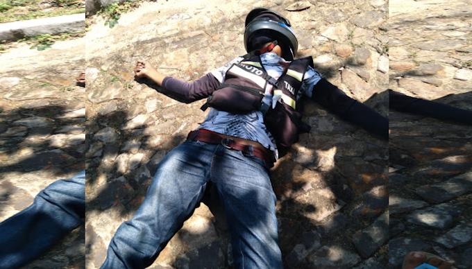 Mototaxista é assassinado com tiro no peito durante assalto em Parnaíba-PI