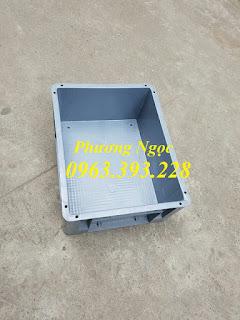 thùng nhựa đặc BL001, hộp nhựa đặc cao cấp