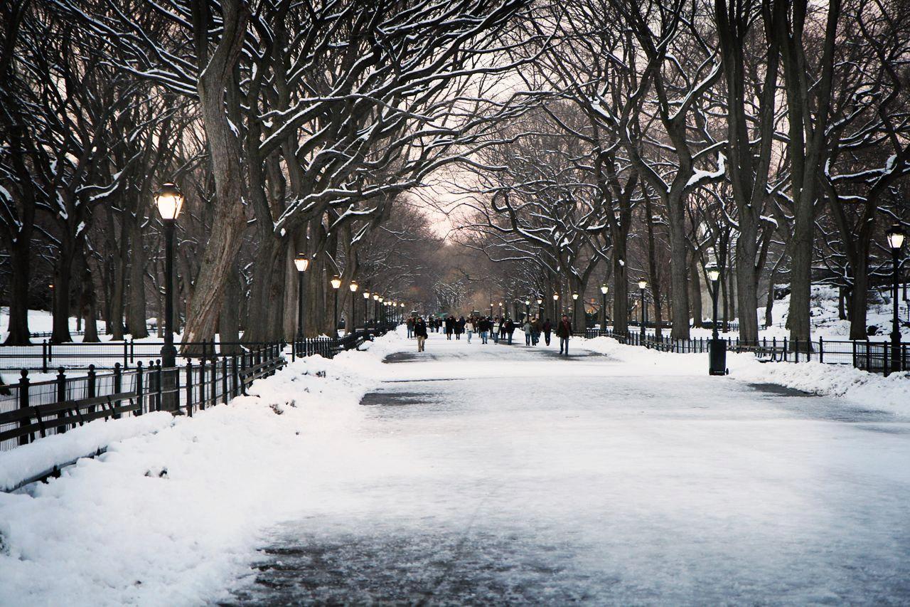 Winter in new york city wallpaper wallpaper wide hd - Winter desktop ...