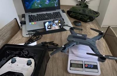 spesifikasi Drone Visuo Battle Sharks