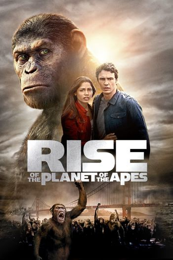 Rise of the Planet of the Apes (2011) Hindi BluRay 720p & 480p Dual Audio