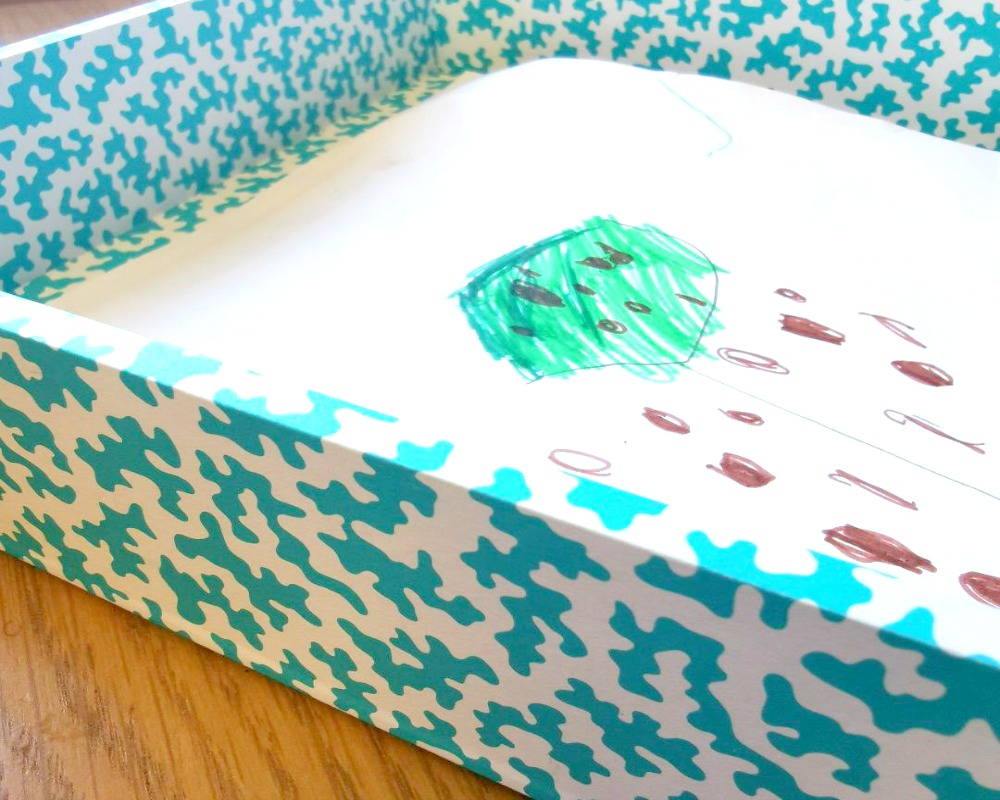 Organising Homeschool Supplies With Blue Bowl (Review)