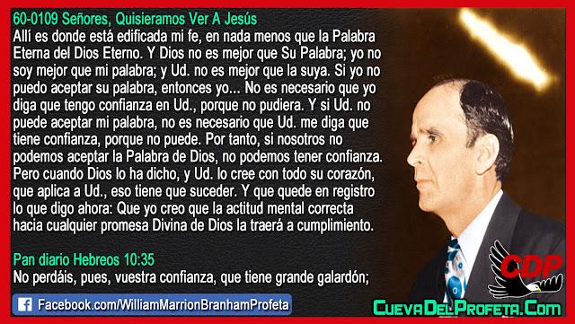 Como traer a cumplimiento las promesas de Dios - William Branham en Español