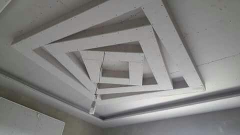 سقف معلق صالة مربعة