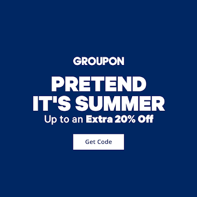 Confessions of a Frugal Mind: Groupon ~ Extra 20% Off Your