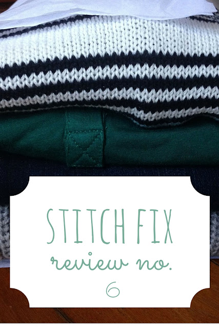 My sixth box from Stitch Fix contained some great outfits! Check out what I kept and what I sent back from this awesome subscription box.
