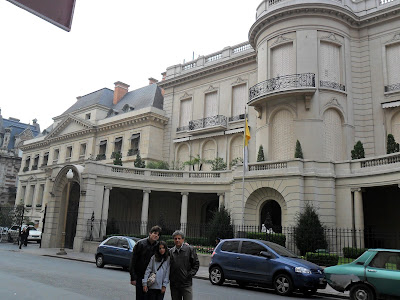 Recoleta; Buenos Aires; América Latina; Embaixada do Vaticano