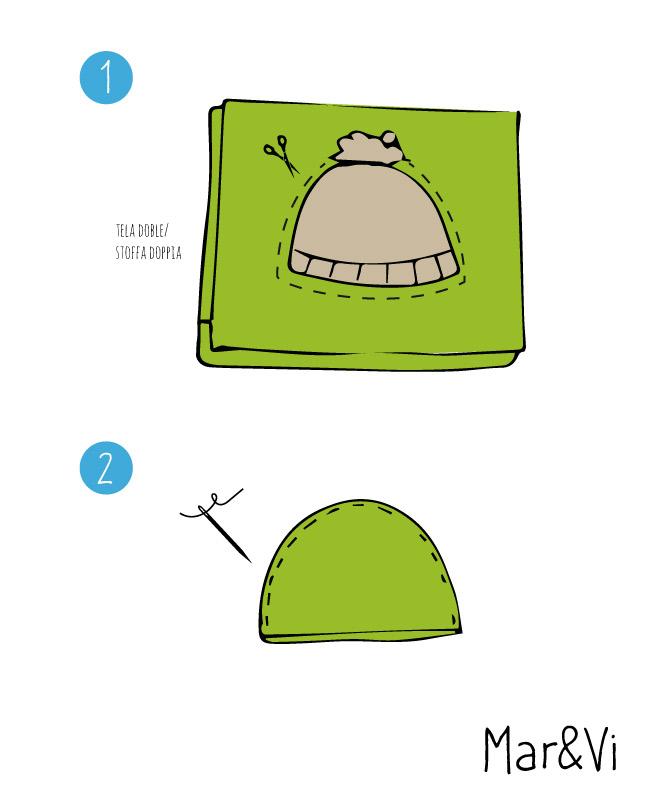 Cómo hacer un disfraz de oruga