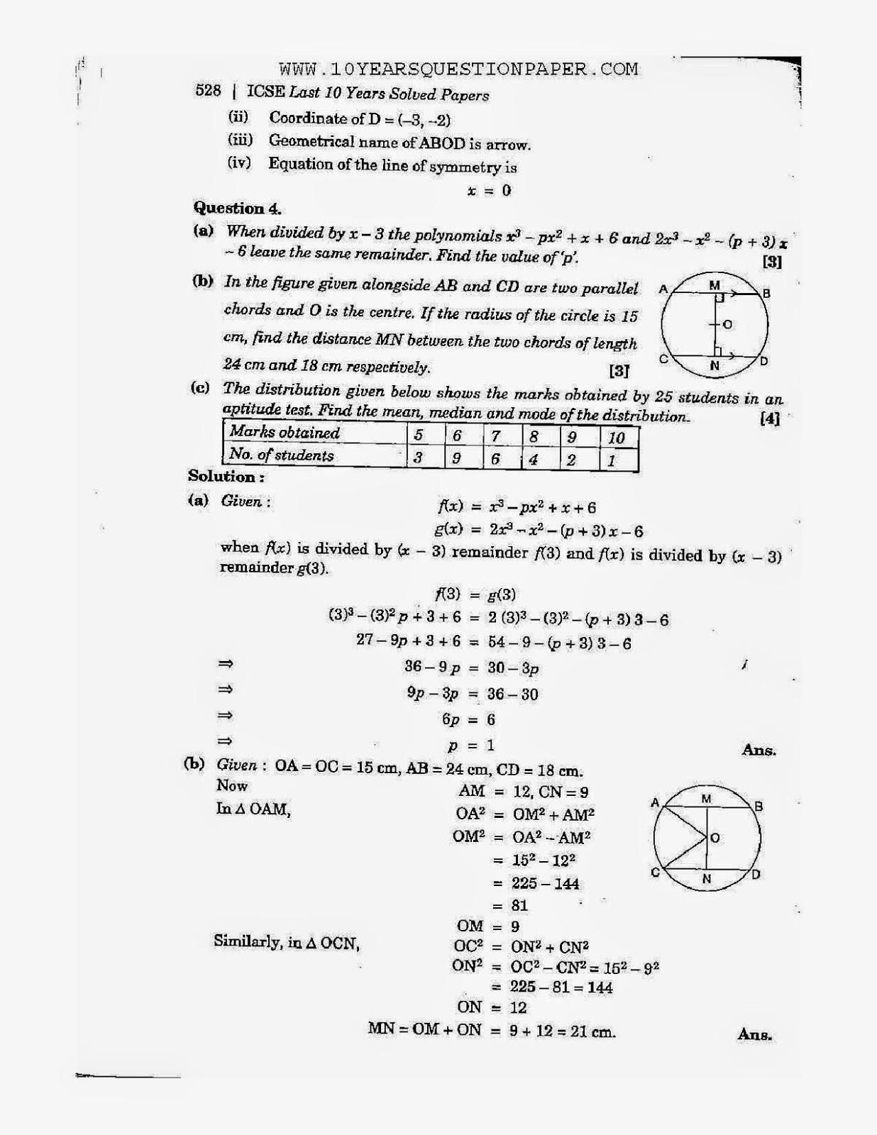 Exemplars Maths grade 4