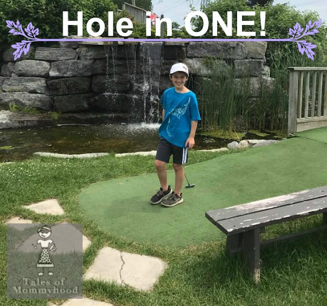 mini golf, mini putt, hole in one, ottawa, summer fun