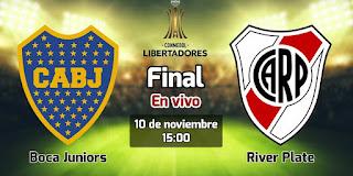 مشاهدة مباراة بوكا جنيورز و ريفر بليت مباشر الآن نهائي كأس لبيرتادوريس