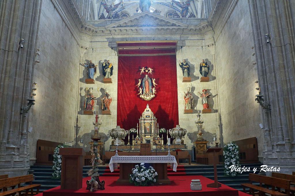 Capilla Mayor de la catedral nueva de Salamanca