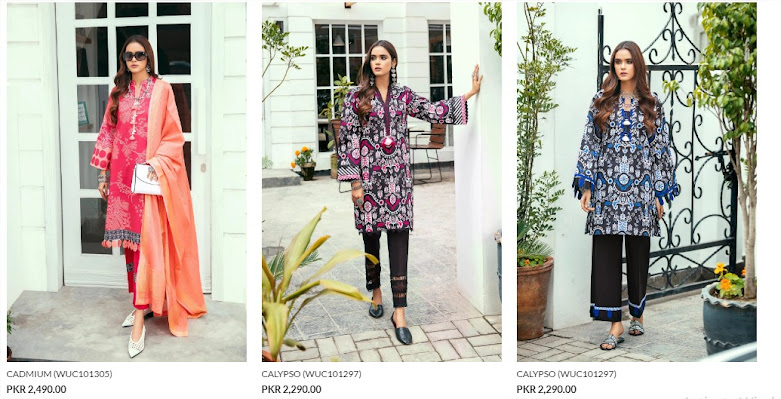 Ethnic by Outfitters Unstitched Summer Collection