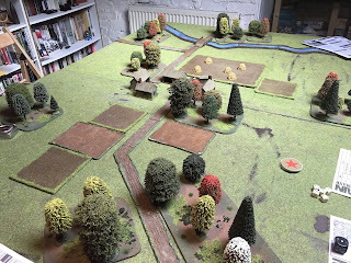 Eastern front game board for Chain of Command