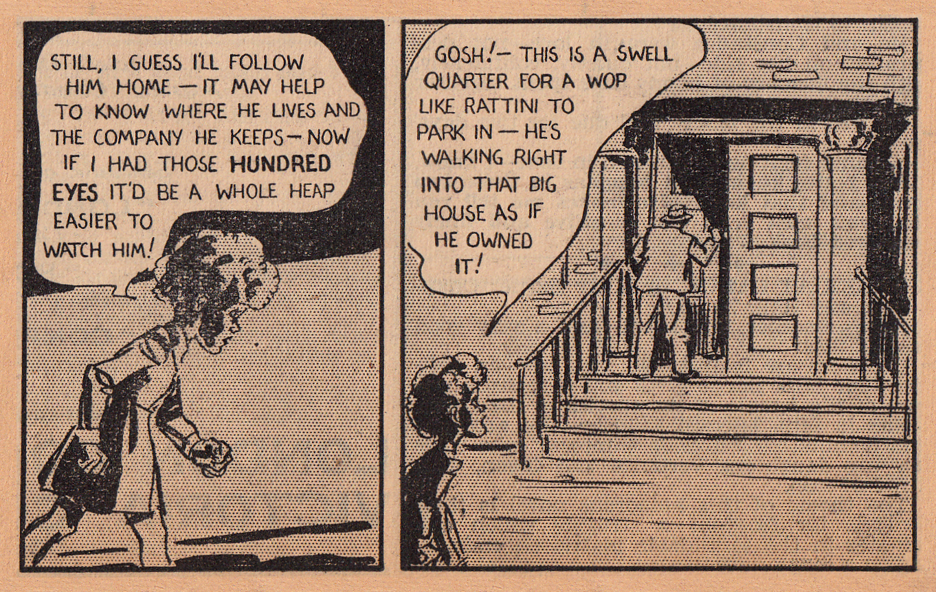 Daily mirror comic strip