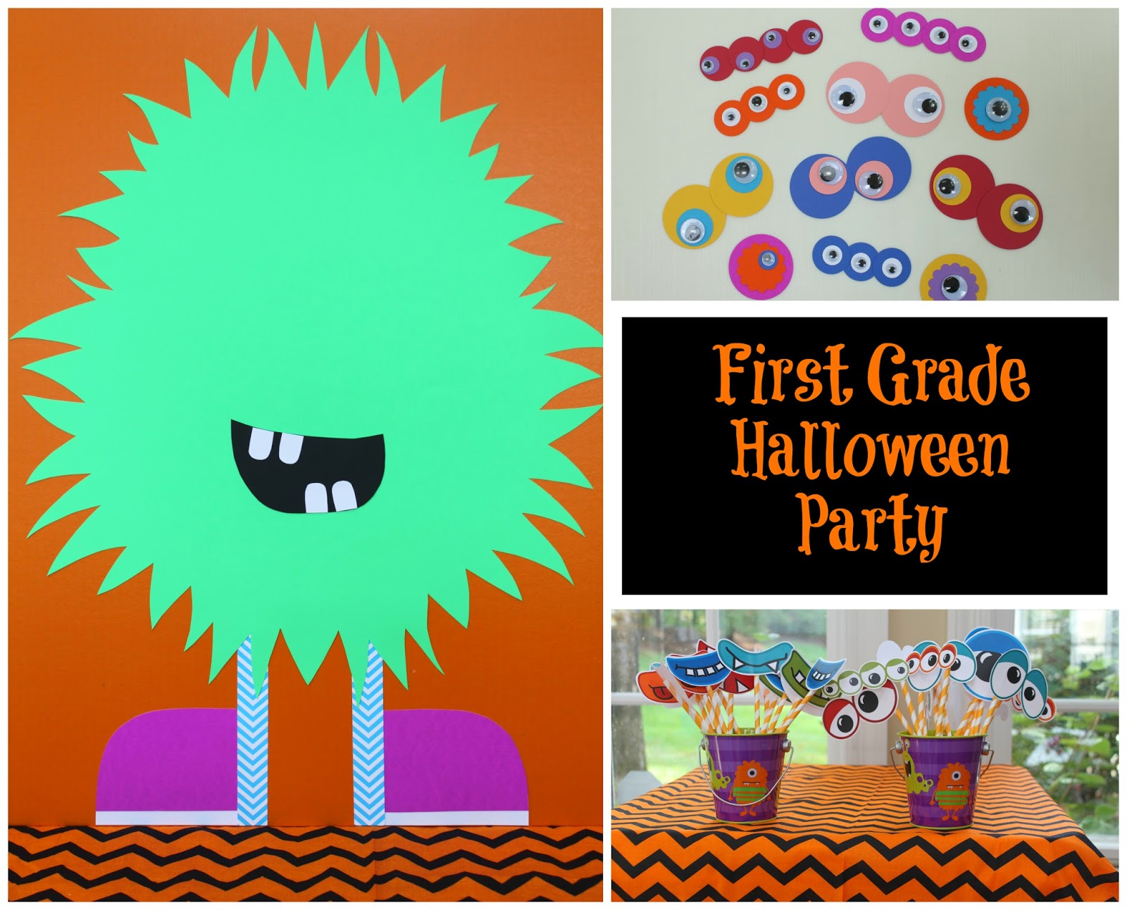 Keeping Up With The Kiddos 1st Grade Halloween Party