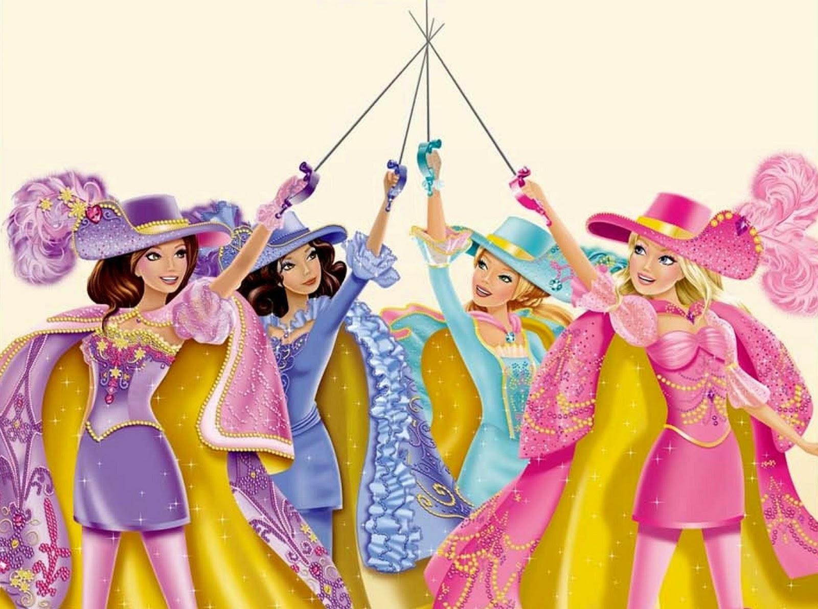Watch Barbie and the Three Musketeers (2009) Full Movie Online - barbieisbarbie