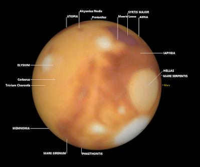 Mars in SkyTools 4 Visual