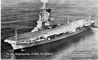 Hr. Ms Karel Doorman (R81) AL Belanda
