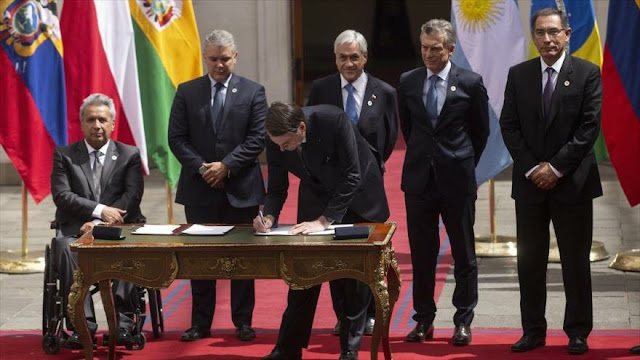 El Gobierno de Brasil anuncia su salida oficial de la Unasur