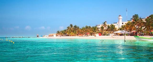 Ilha Isla Mujeres em Cancún
