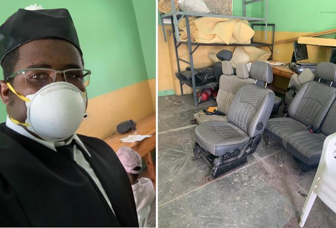 Denuncia abogados conocen audiencias virtuales en una habitación sucia de la cárcel de Barahona