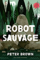 couverture robot sauvage peter brown