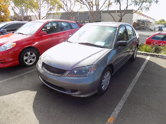 2004 Honda Civic after complete paint job at Almost Everything Auto Body.