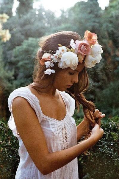 LA FOTO DE HOY: Flower crown 1