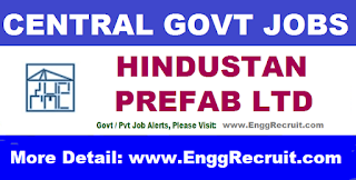 HPL Recruitment 2018