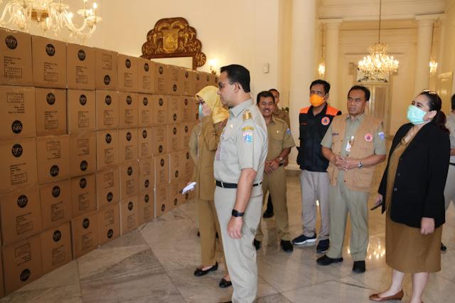 Terima 40 Ribu Coverall APD,  Pemprov DKI Distribusikan ke Rumah Sakit dan Faskes di Jakarta