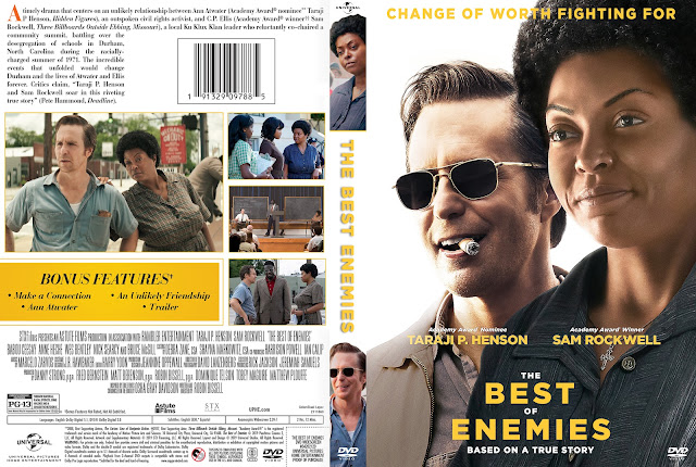 The Best of Enemies DVD Cover | Cover Addict - Free DVD, Bluray ...