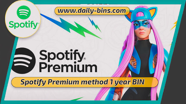 Spotify Premium BIN 2022