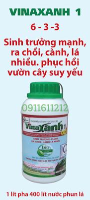 Phân hữu cơ sinh học Vinaxanh 1