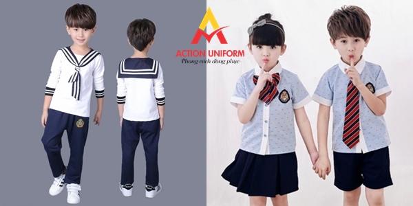 Mẫu đồng phục tiểu học 21