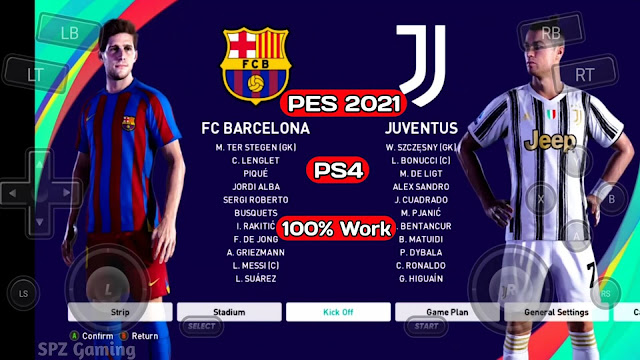 Download eFootball PES 2021 ORIGINAL PS4 Mobile Play On Android & IOS Ultra Graphics