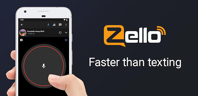 تنزيل تطبيق  Zello PTT Walkie Talkie  تطبيق التواصل الفوري والمباشر بجودة صوت عالية للاندرويد