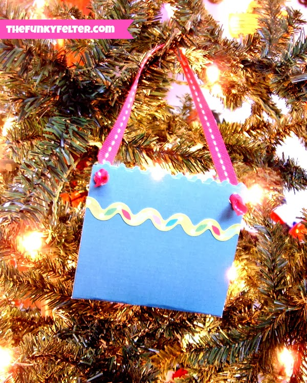 Paper Pouch Ornament DIY Tutorial for Christmas