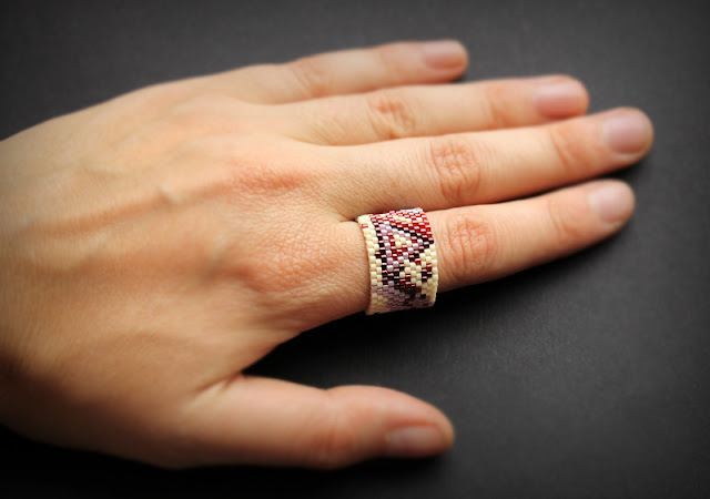 купить абстрактную бижутерию кольца ручной работы на средний палец