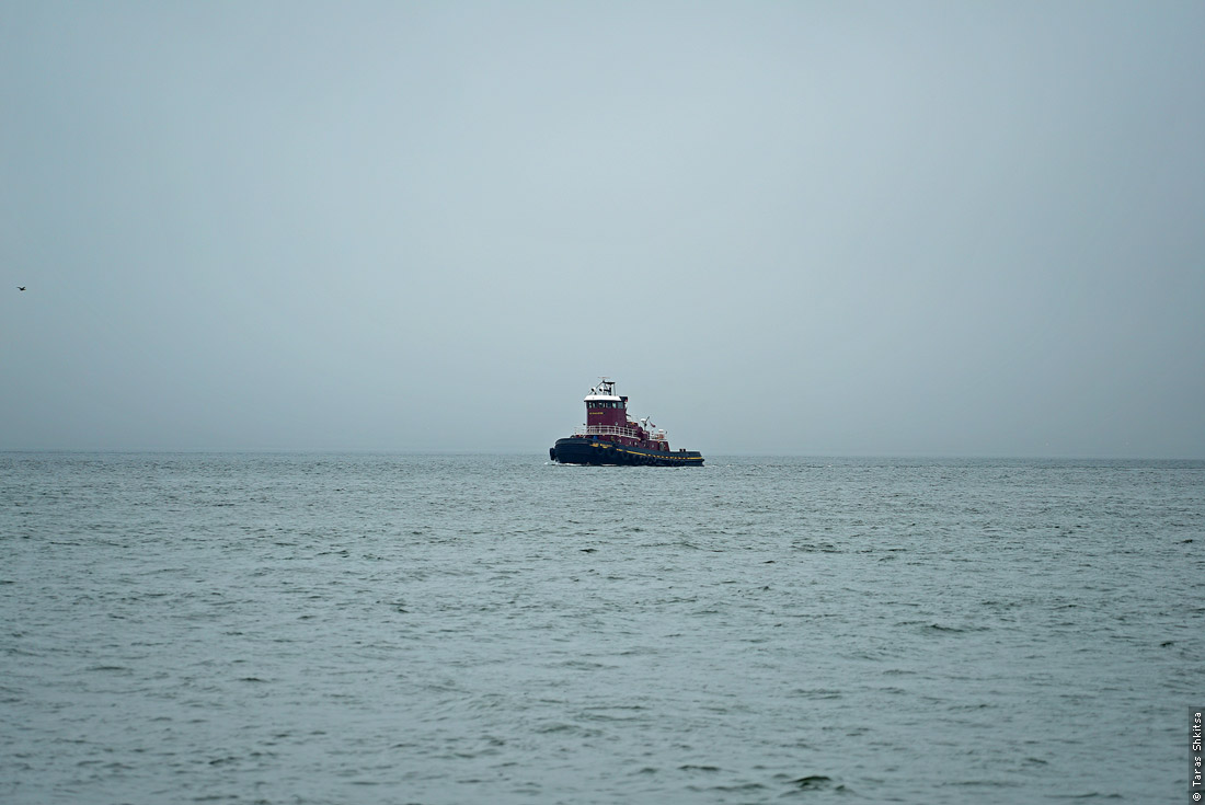 Tugboat. The Narrows, New York