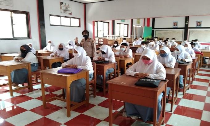 Hari ke-12 Ops Bina Kusuma Maung II, Polres Serang Sasar Peredaran Miras dan Sambangi Sekolah