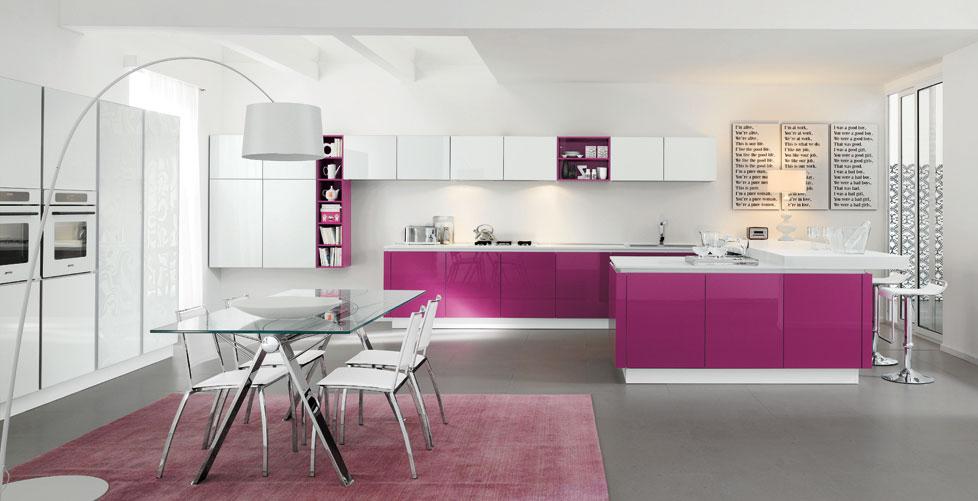 Contemporáneo Cocinas Fucsia Componente - Ideas para el hogar ...