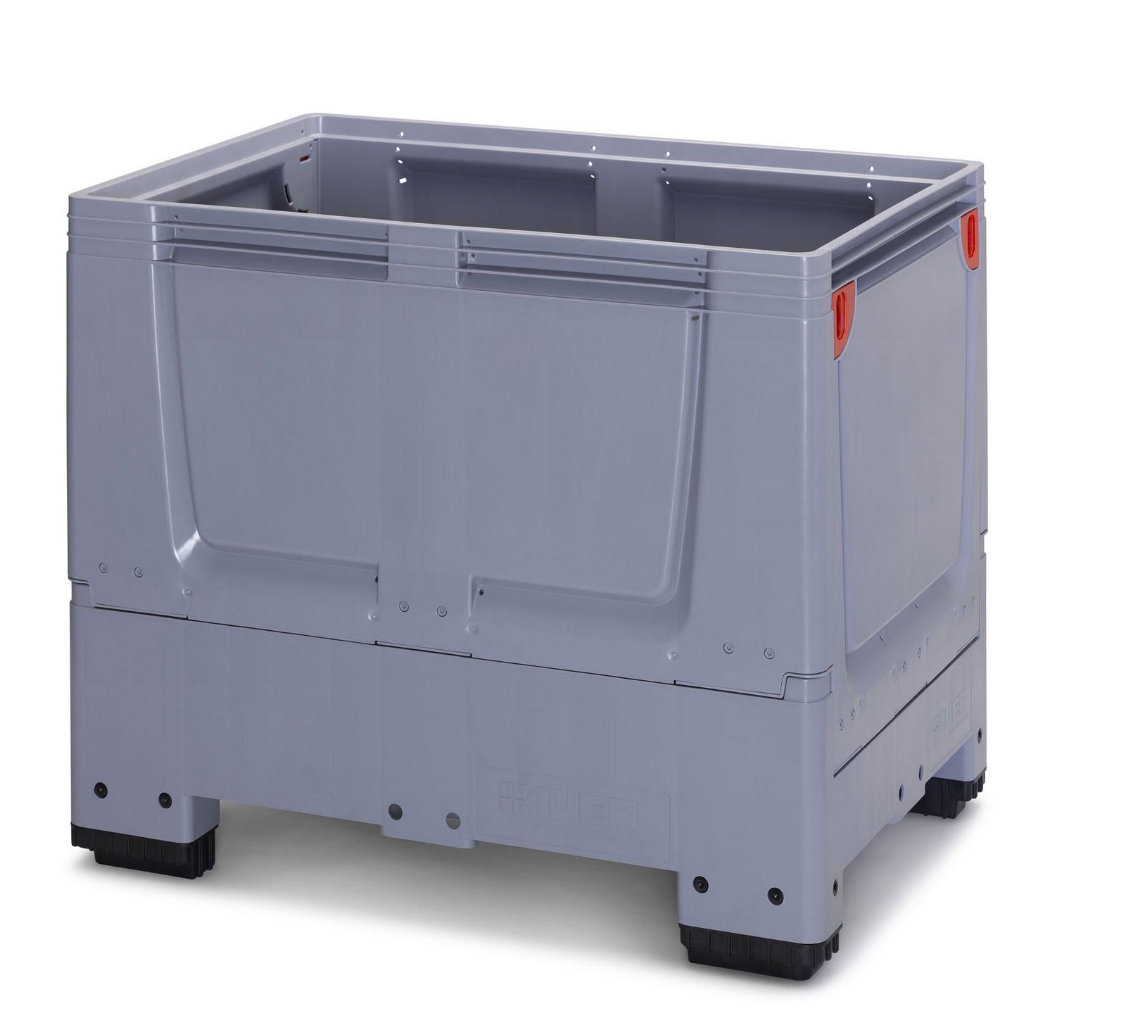 0aabf41af74d Inka Palets Barcelona: 6.2 Caja-contenedor plegable PlegaBox 1208 de ...